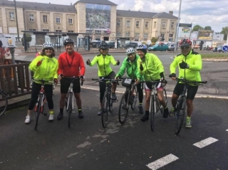 Anca's Pedal to Paris
