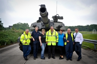 BAE Systems Give Auction Winners a Day to Remember!