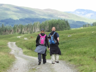 Dora & Kenny's West Highland Way Challenge