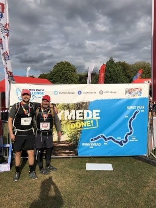 Will and Steve's Thames Path Challenge